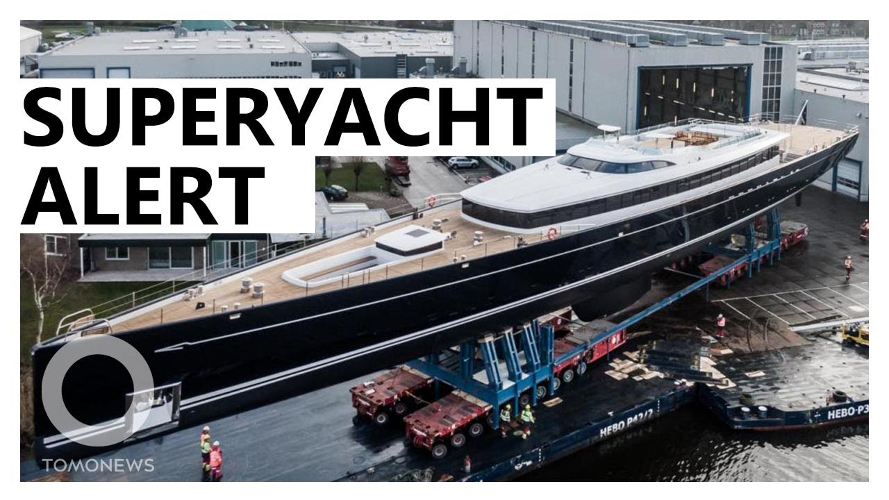 This Superyacht was designed using Space mission Technology