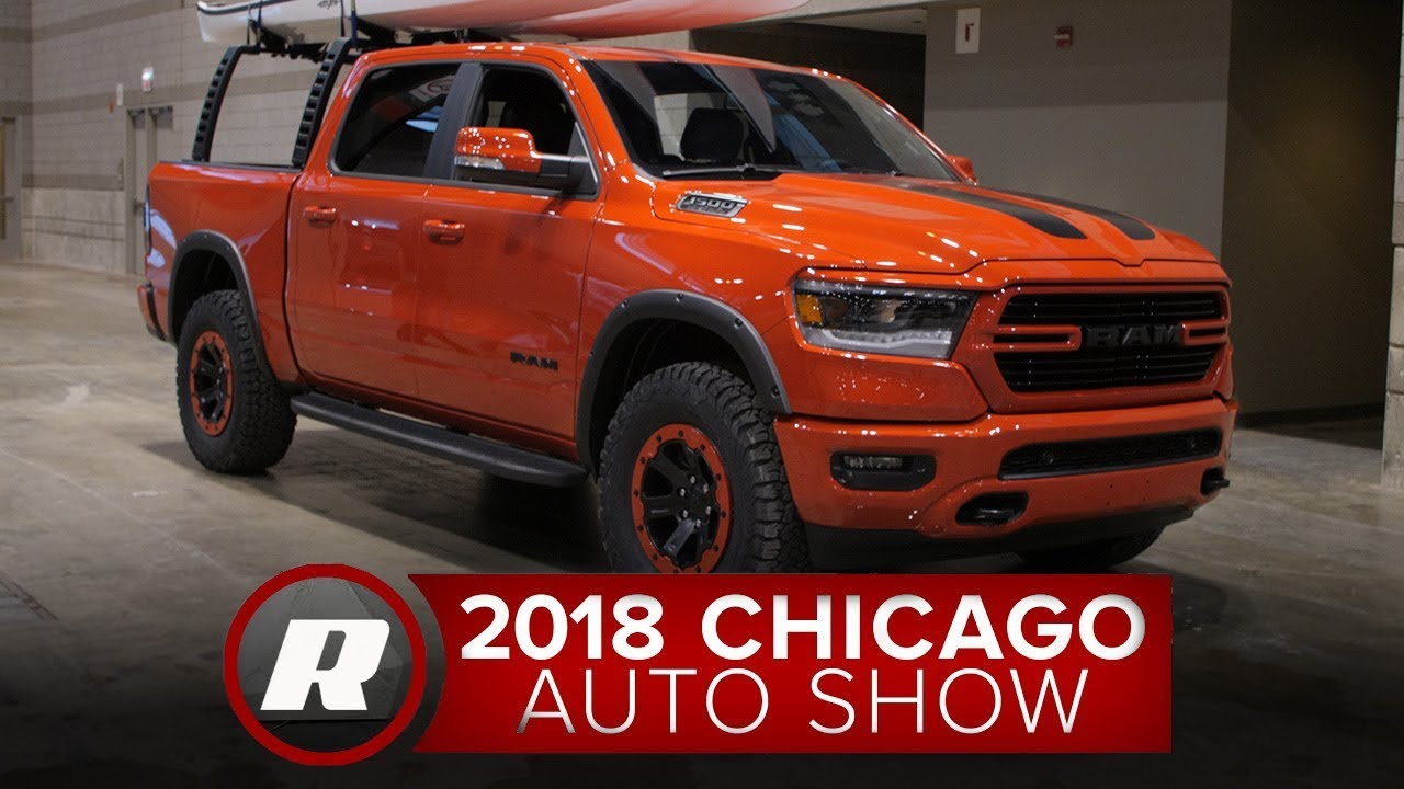2019 Ram 1500 can be heavily modded thanks to Mopar - 2018 Chicago Auto Show