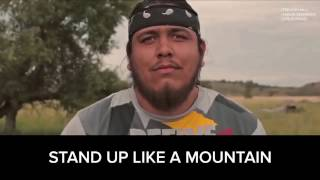 STANDING ROCK by TREVOR HALL [trillion remix & rap & video re edit] featuring Atsa E'sha Hoferer
