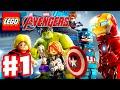 LEGO Marvel's Avengers - Gameplay Walkthrough Part 1 - Captain America, Iron Man, Thor, Hulk! (PC)
