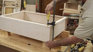 Gluing A Face Frame To A Case  |  Woodworkers Guild Of America