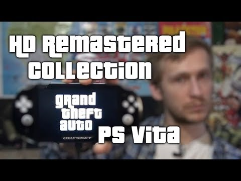 ★GTA★ PS Vita HD Collecton (2019) [Native Resolution + Remastered Controls] Grand Theft Auto