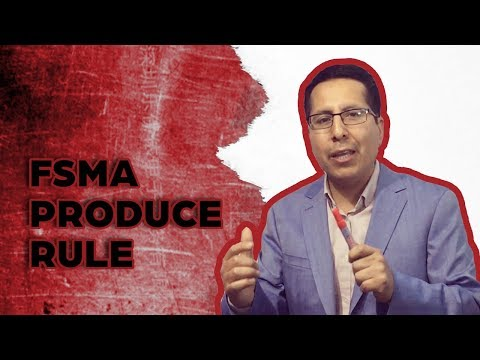 FSMA Produce Rule