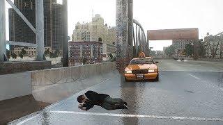 GTA 4 in GTA 5 MAP MOD: NIKO Euphoria Ragdoll Stunts/Crashes Gameplay