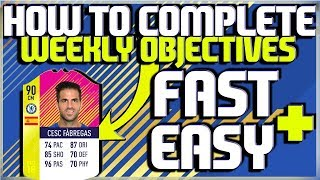 HOW TO COMPLETE WEEKLY OBJECTIVE THE PASS MASTER CLASSIC HERO CESC FABREGAS FAST AND EASY