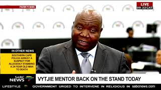 The cross examination of former ANC MP Vytjie Mentor is expected to...