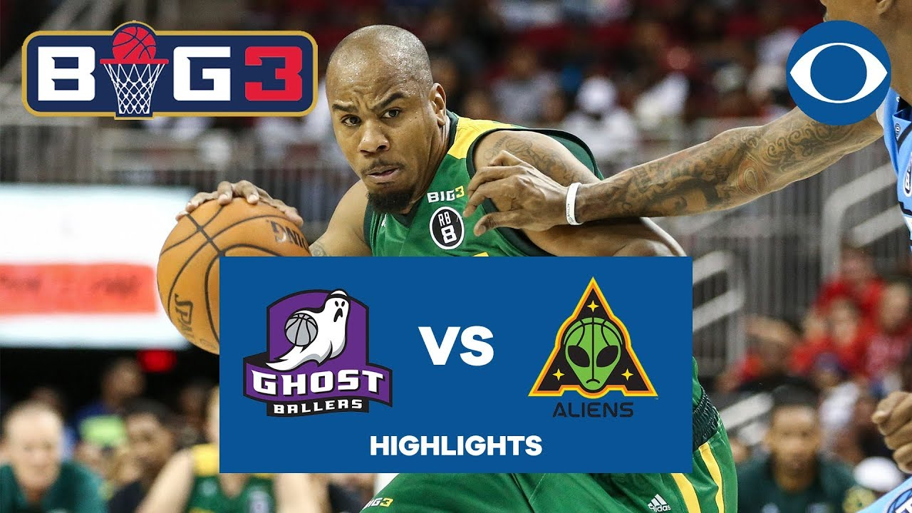 Andre Owens powers Aliens, Brandon Rush hits DAGGER vs. Ghost Ballers | BIG 3 | CBS Sports