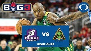 Andre Owens powers Aliens, Brandon Rush hits DAGGER vs. Ghost Ballers | BIG 3 | CBS Sports