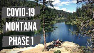 Montana Coronavirus Update Phase 1 Reopening