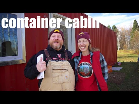 Can You LIVE In THAT? | Why A DIY Shipping Container Cabin  | Bear Bottom Acres