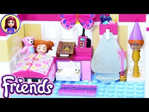 Lego Friends Custom Girls Room Renovation for Toddler / Child Build for Triplets DIY Craft