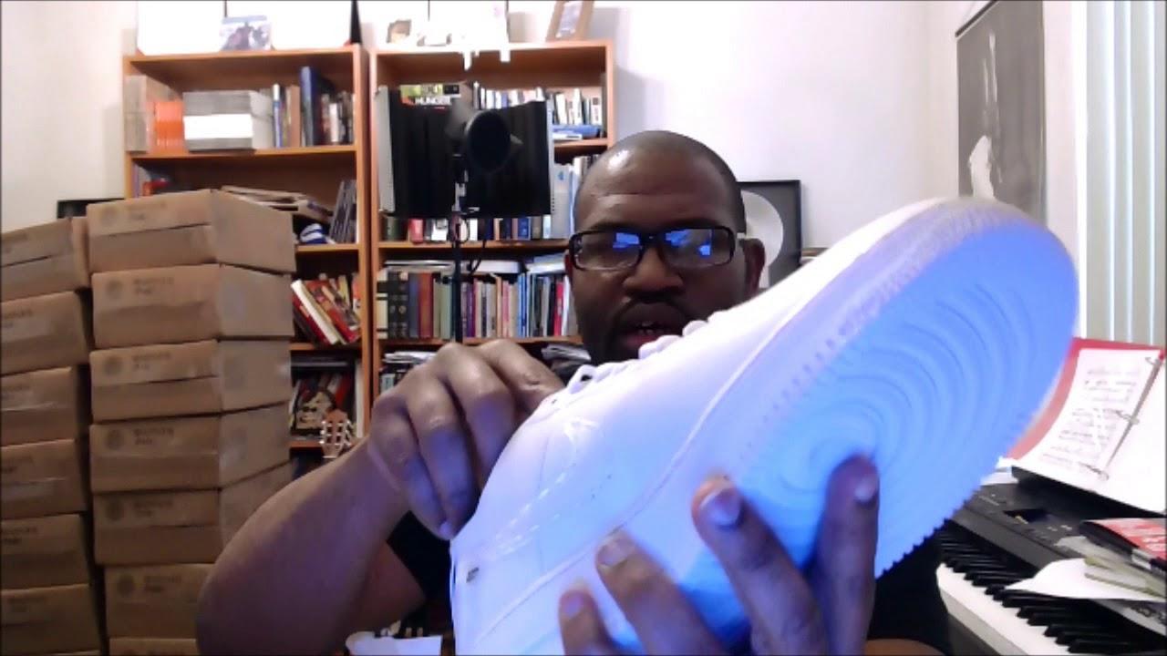 5f4ba187 Nike Air Force 1 Low NCXL OBJ CI5766-110 White/White - YouTube