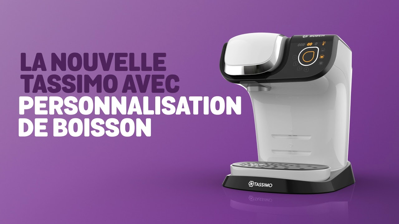 tassimo my way personnalisation de vos boissons youtube. Black Bedroom Furniture Sets. Home Design Ideas