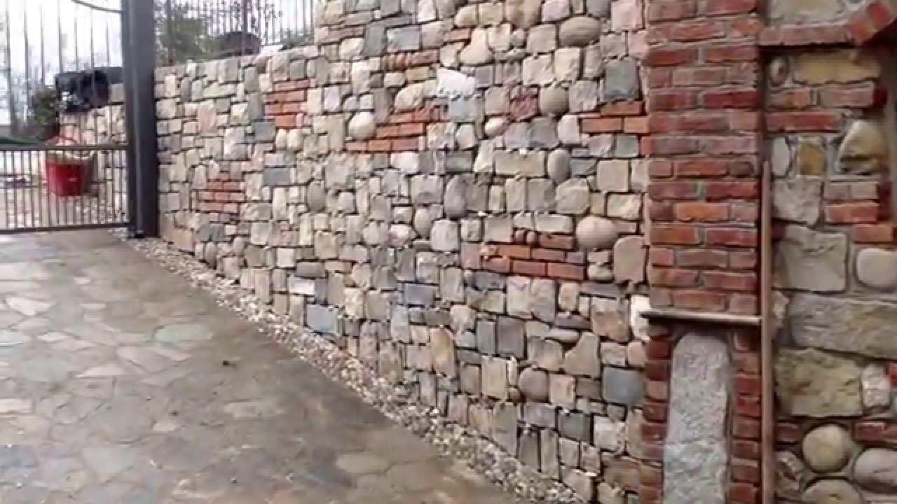 Lavori in pietra naturale pietra di credaro e mattoni for Mattoni e pietra americani