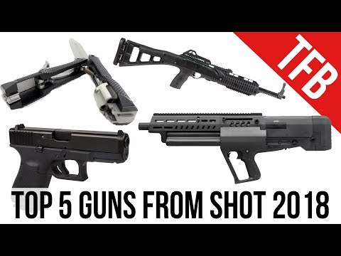5 Best Guns of SHOT Show 2018