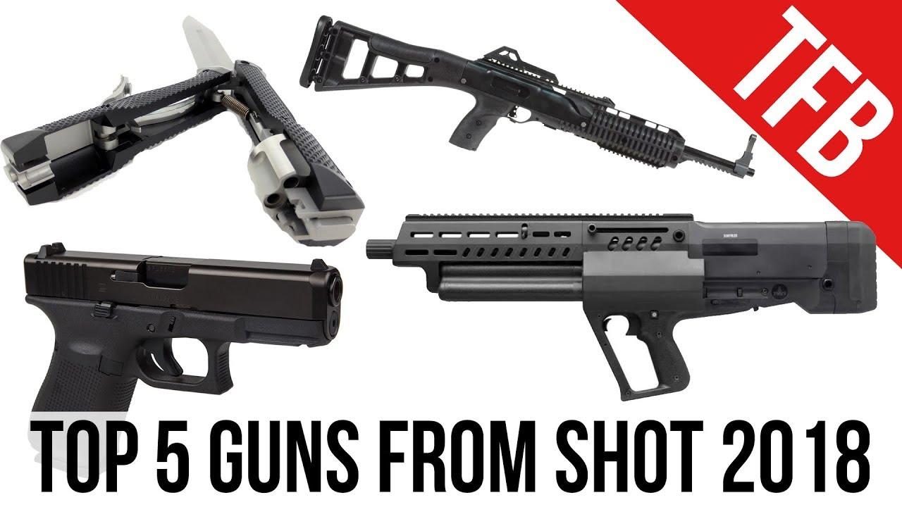 5 best guns of shot show 2018 youtube