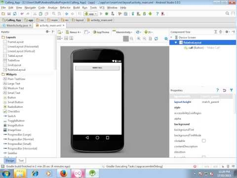 Android Studio Make Calling