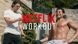 Full Movie Star Body Workout with Chase Tang (Jupiters Legacy)