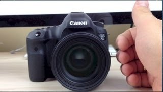 Canon 5D Mark III Unboxing Part 2 Sigma 50mm F1.4 Lens