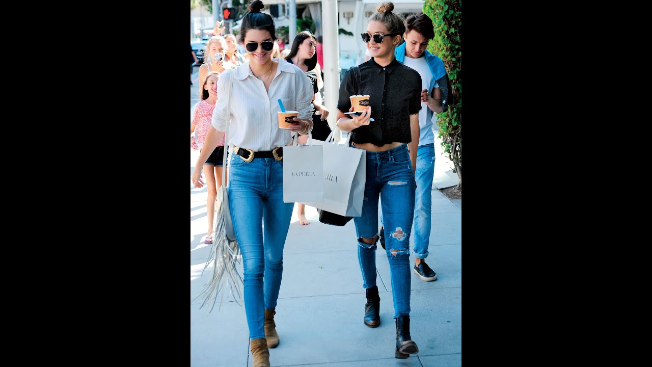 Kendall Jenner S 13 Best Street Style Moments Youtube
