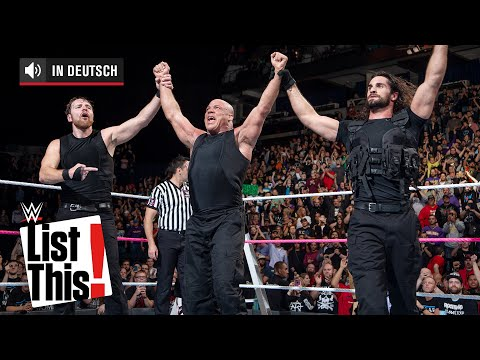 TLC-Momente, die uns sprachlos machten - WWE List This! (DEUTSCH)
