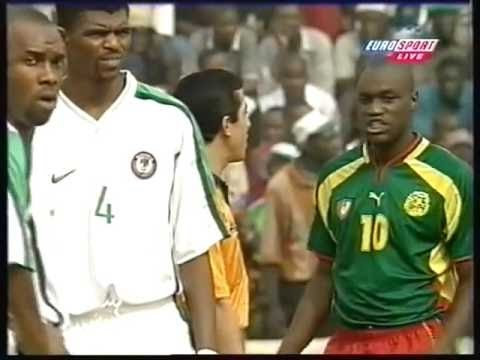LIVE: Nigeria v Cameroon - 2000 African Nations Cup Final - CONTROVERSIAL MATCH
