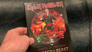 IRON MAIDEN Nights Of The Dead - Legacy Of The Beast, Live in Mexico City Deluxe Hard-case Book Edt.