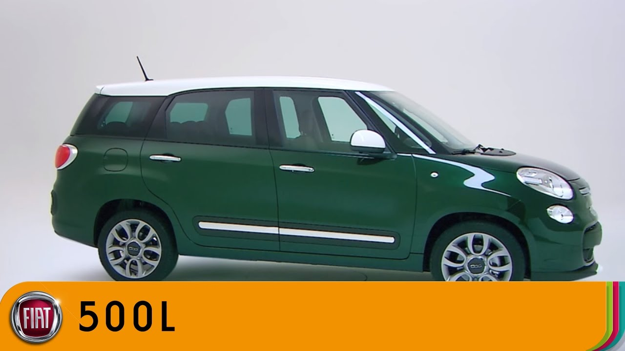 Fiat 500L MPW Super Compact Family Car YouTube