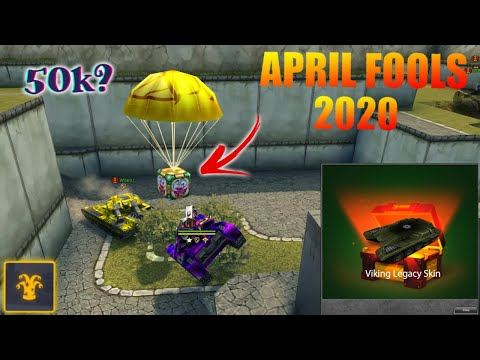 Tanki Online - Caught 50 000 SUPER GOLD?! 2020 April Fool's day Gold Boxes! #2 | Танки Онлайн