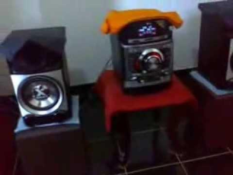 MINI SYSTEM LG CM 9520 HI-FI DIGITAL AUDIO SYSTEM