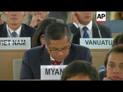 Myanmar envoy reacts to final findings of UN probe into Rohingya crisis