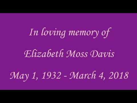 Elizabeth Moss Davis
