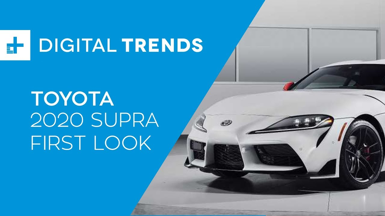 d66f0182a7 2020 Toyota Supra - First Look at Detroit Auto Show 2019 - YouTube