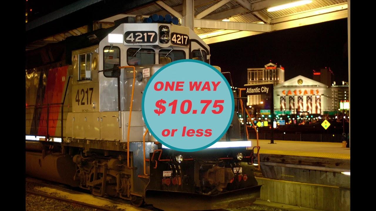 NJ TRANSIT: Atlantic City Rail Line
