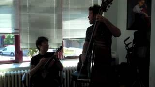 Amazing Violin & Bass Rendition of Stand By Me (Charles Yang and Michael Thurber)