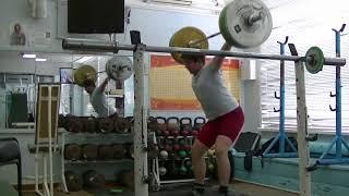 Мезецев Алексей,14 лет, вк 85 Рывок 85 кг Есть личный рекорд!