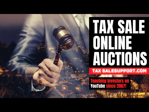 Tax Sale Tutorial 4: