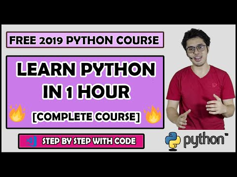 Python Tutorial For Beginners (Complete Course) thumbnail