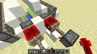 Minecraft Fully Automatic Redstone Sugarcane Farm (1.7.4)