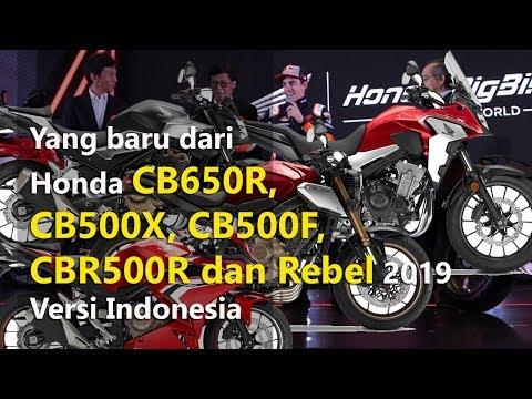 VLOG : Yang Baru Dari Honda CB650R, CB500X, CB500F, CBR500R Dan Rebel | TMCBLOG #1129