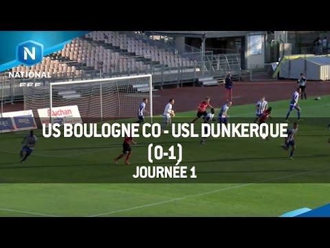 J1 : US Boulogne CO – USL Dunkerque (0-1), le résumé