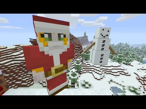 Minecraft Xbox - Festive World - Music Disc Hunt - Part 3