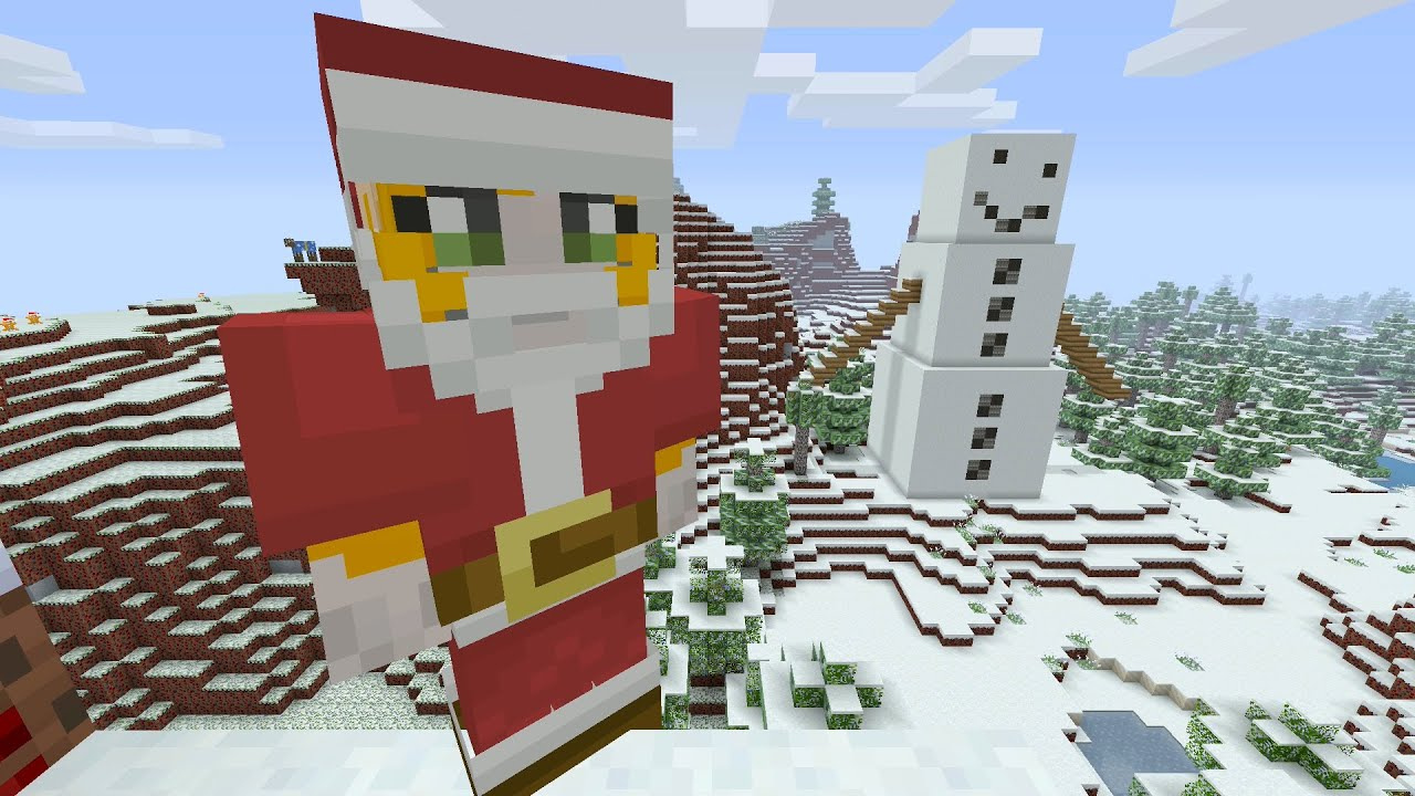 Minecraft Xbox - Festive World - Music Disc Hunt - Part 3 - YouTube