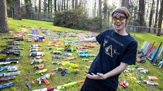 WORLDS LARGEST NERF GUN ARSENAL!!!