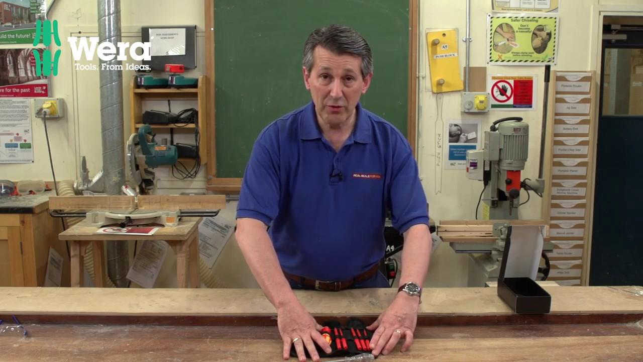 Wera Vde Interchangeable Blade Screwdriver Set Youtube Kraftform Voltage Tester Circuit Testers