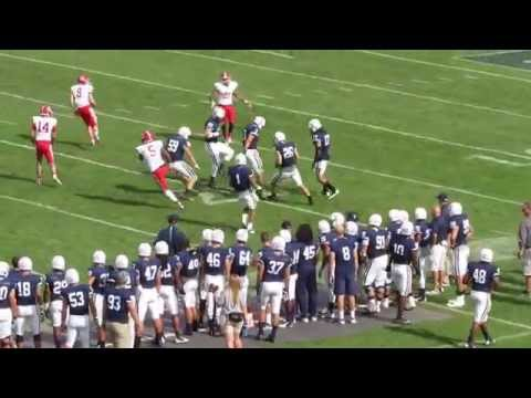 Cornell Big Red vs Yale Bulldogs - Football Video Highlights - Yale Bowl - September 26, 2015