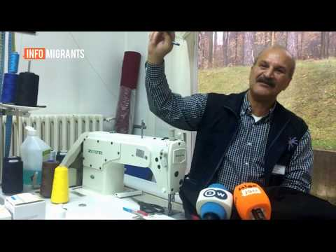 An Iraqi refugee decides to stay in Serbia