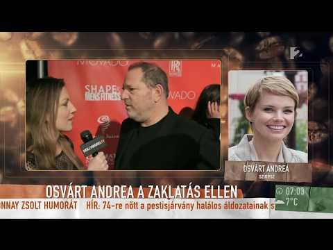 Weinsteinbotrány: Osvárt Andrea ˝jelzést kapott˝ a producertől  tv2.humokka