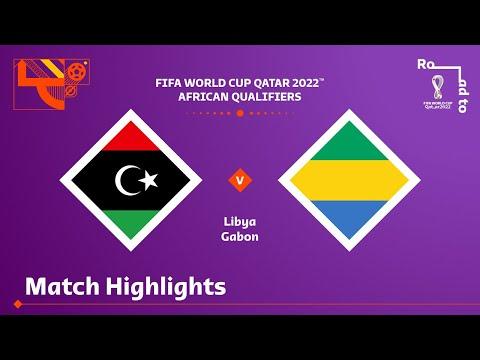 Libya v Gabon | FIFA World Cup Qatar 2022 Qualifier | Match Highlights