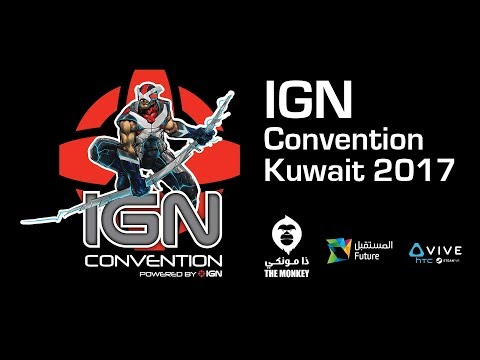 The Monkey steals the show at IGN Kuwait 2017